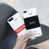 supreme coque iphone x plus